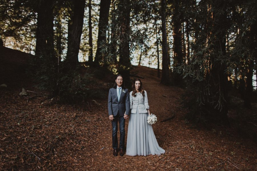 Moody Sunset Elopement at Post Ranch Inn