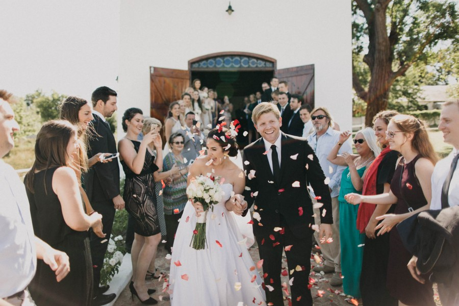 Summertime Wedding in South Africa's Wine Country