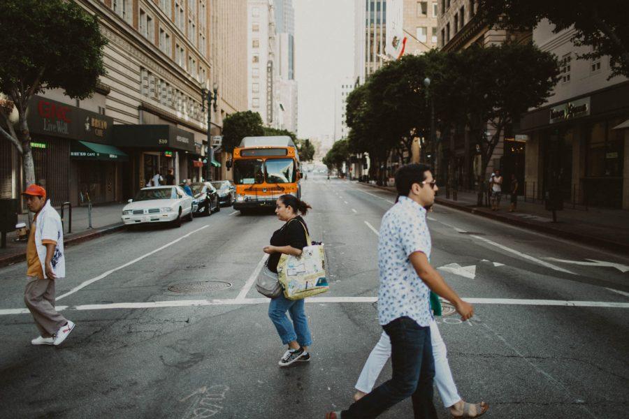 Downtown LA Engagement