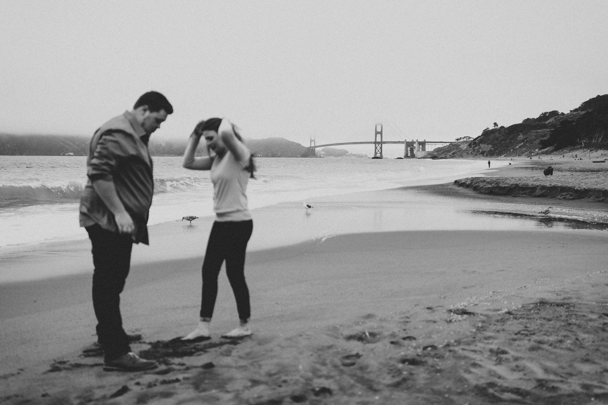 Nick And Cherise San Francisco Baker Beach Lands End Engagement 028