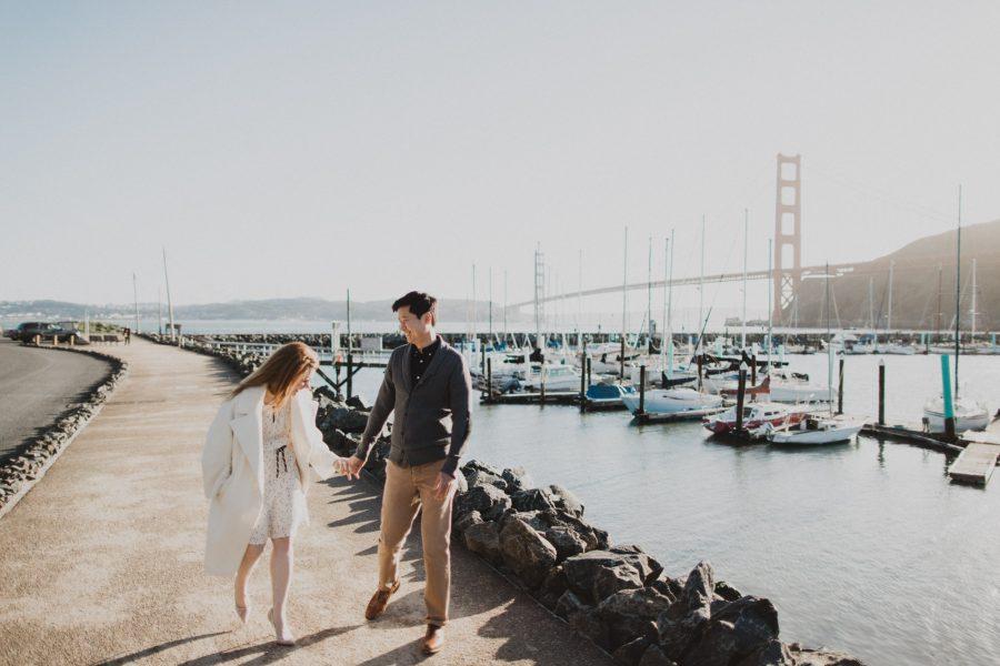 Presidio Yacht Club Engagement