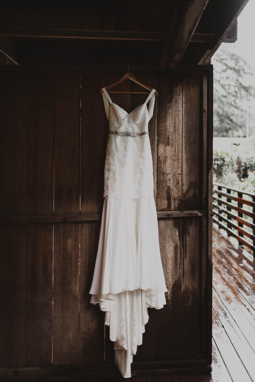 Big sur forest wedding dresses