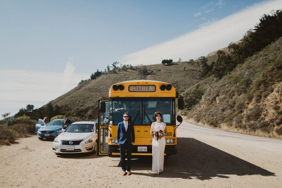 Married on a School Bus