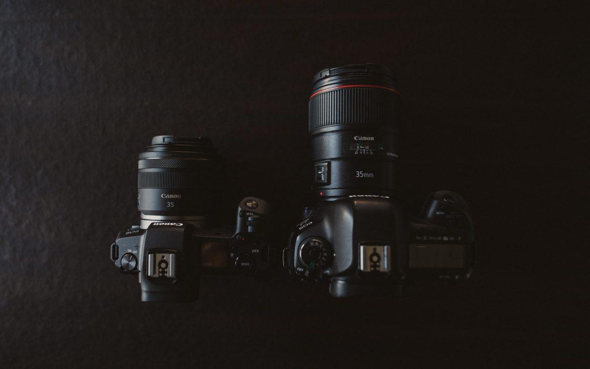 Canon EOS R vs. Canon 5D Mark IV