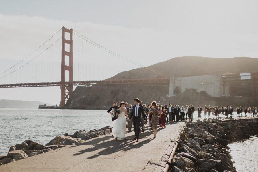 Married Beneath The Golden Gate Bridge