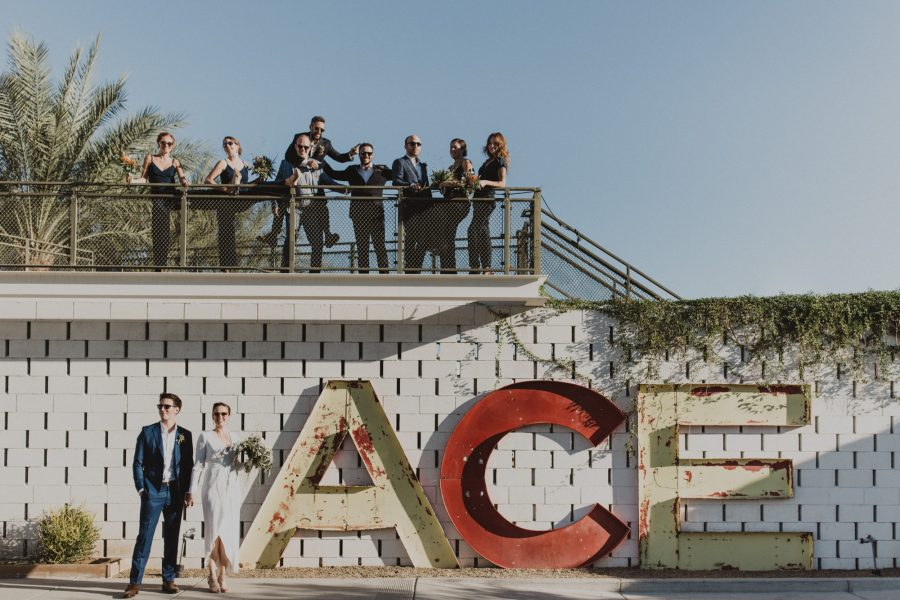 Palm Springs Ace Hotel Wedding