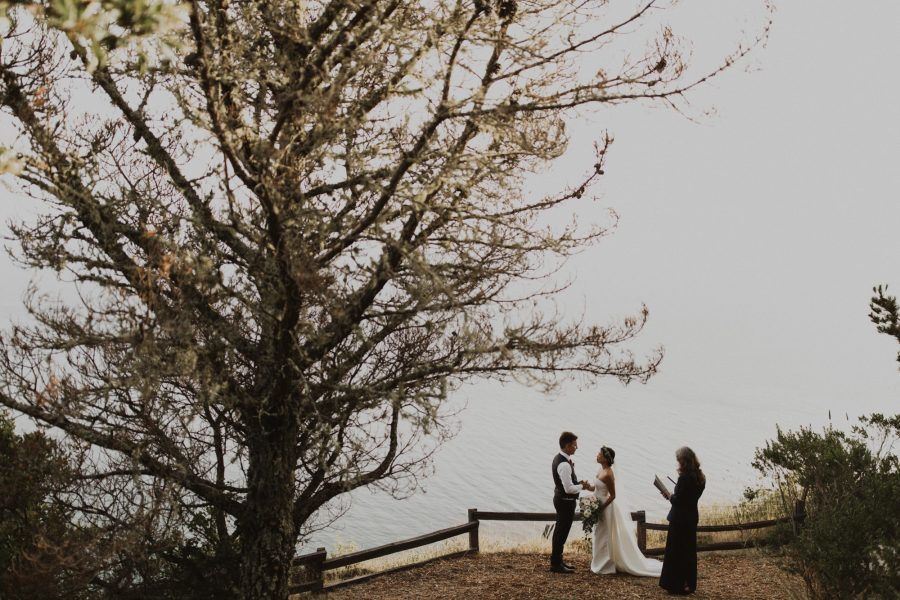 Ethereal Post Ranch Inn Wedding