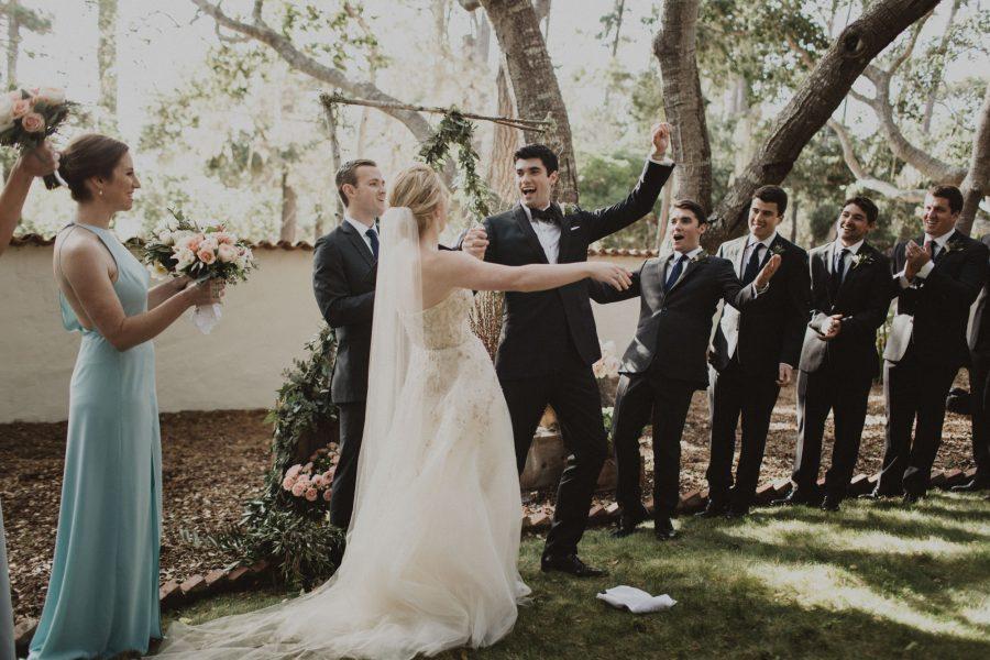 Effortlessly Elegant Pebble Beach Wedding