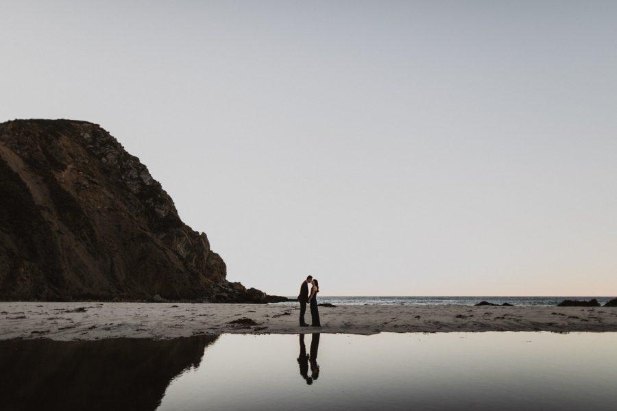 Pfeiffer Beach Engagement