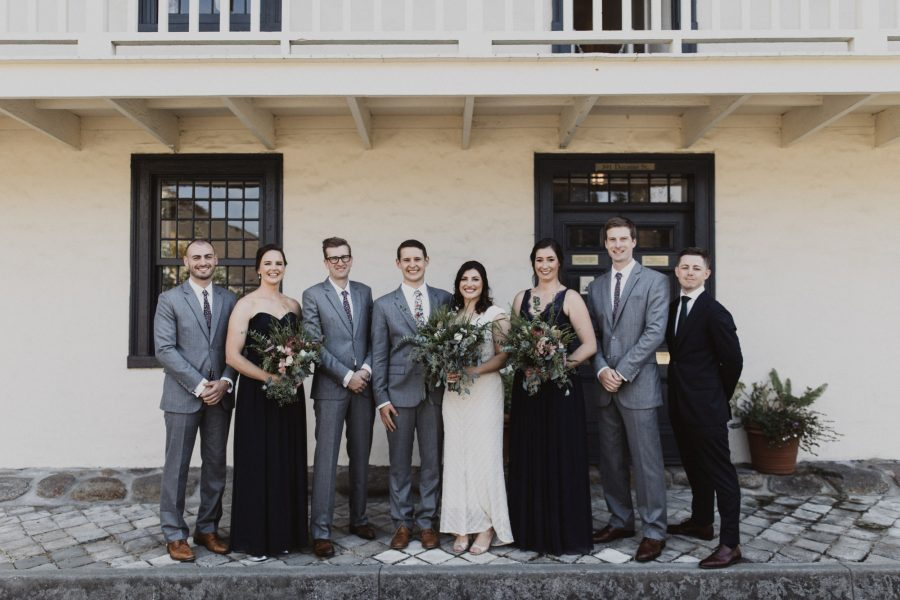 Intimate Wedding at Monterey's Old Whaling Station