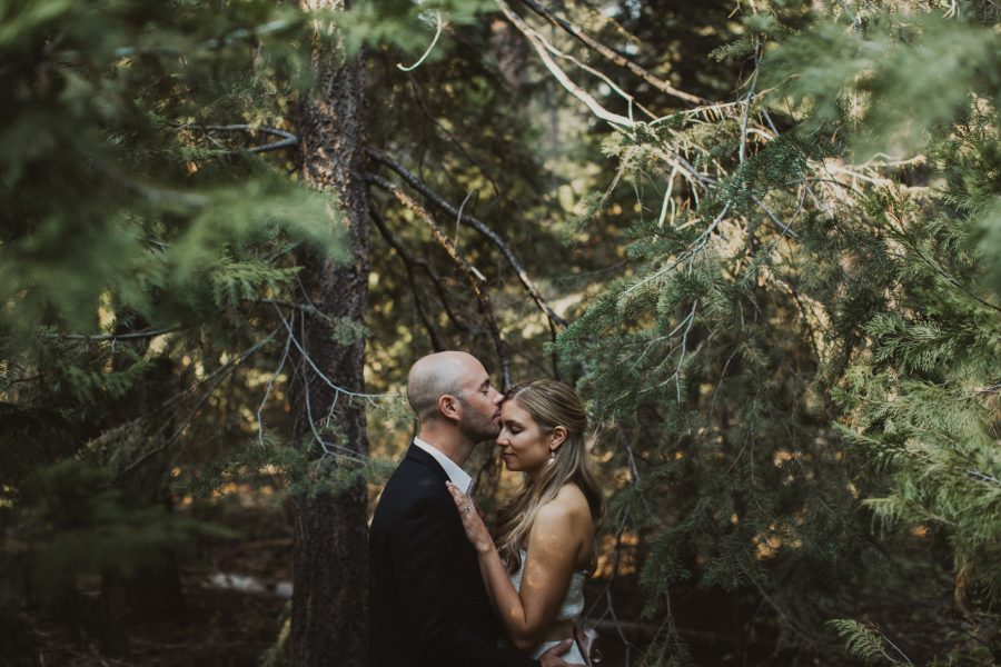 Summertime Lake Tahoe Elopement