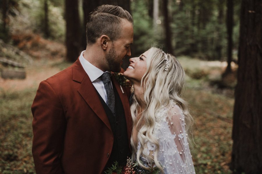 Wedding in the Redwoods of Laughing Canyon