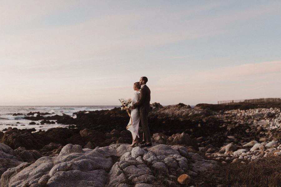 Pacific Grove Wedding along the Asilomar Coast
