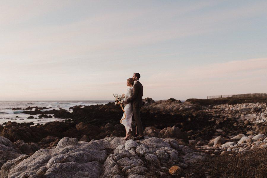 Pacific Grove Wedding along the Asilomar Coast