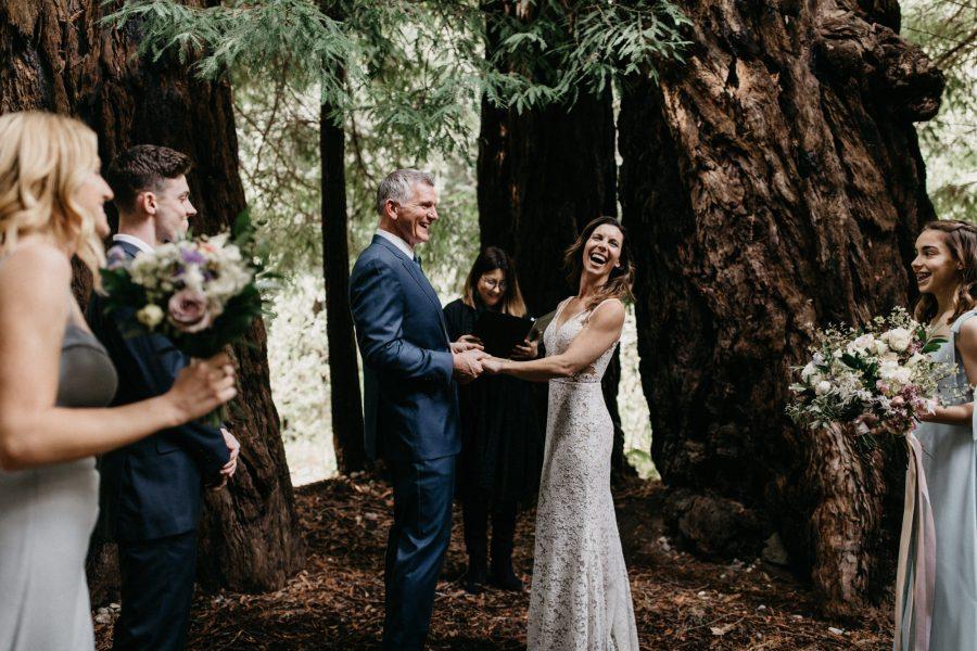 Bridge House Wedding at Glen Oaks Big Sur