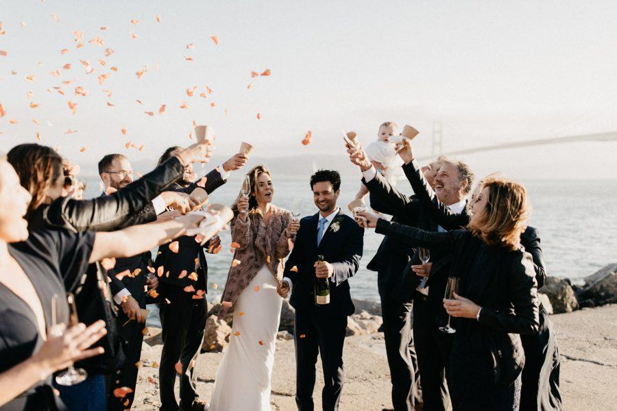 Fall Wedding at the Presidio Yacht Club