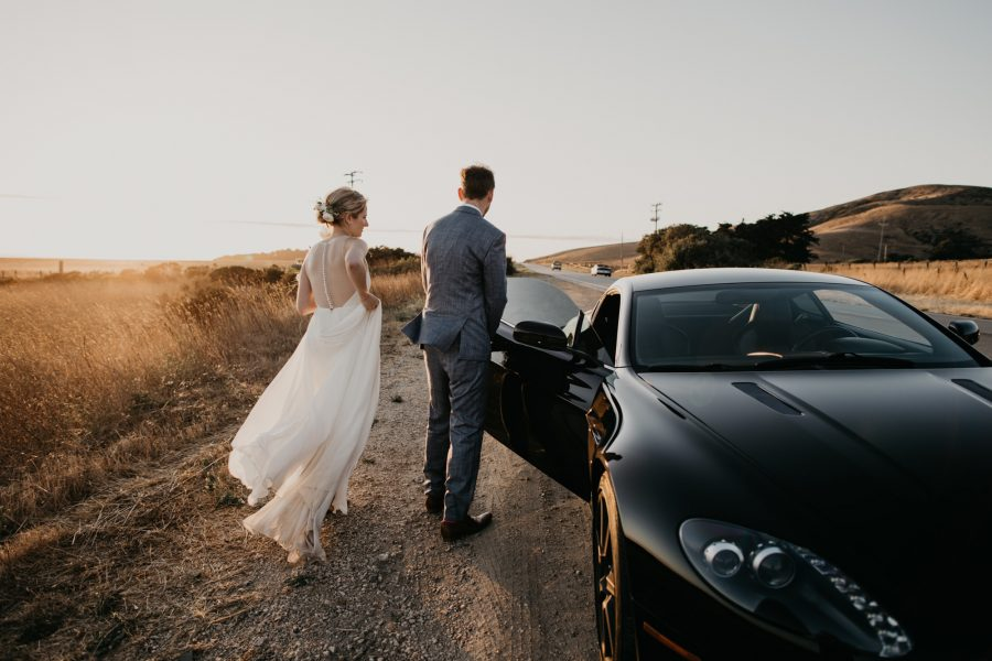 Small Big Sur Wedding at Pfeiffer Beach