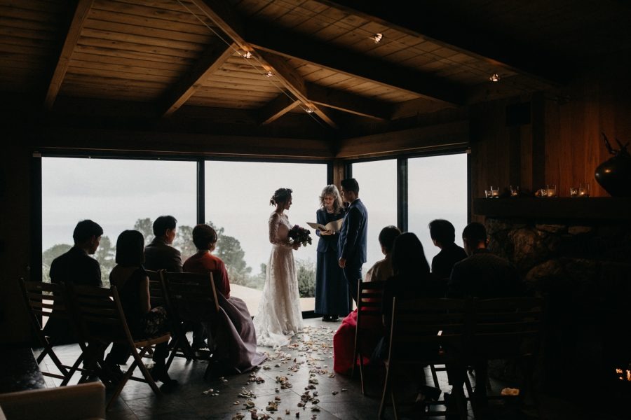 Cozy Post Ranch Wedding