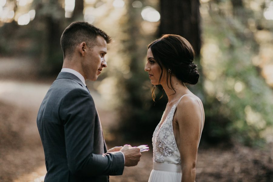 Redwoods Elopement at Post Ranch Inn